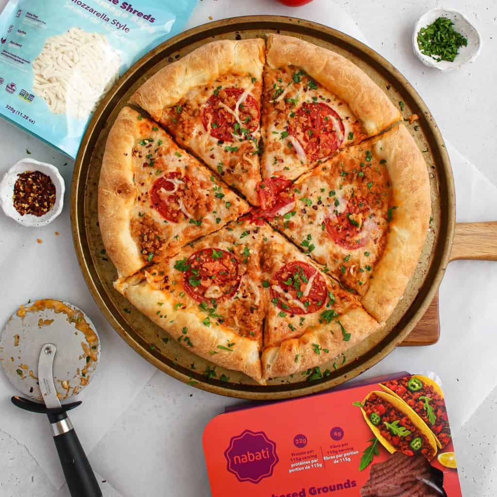 Nabati pizza