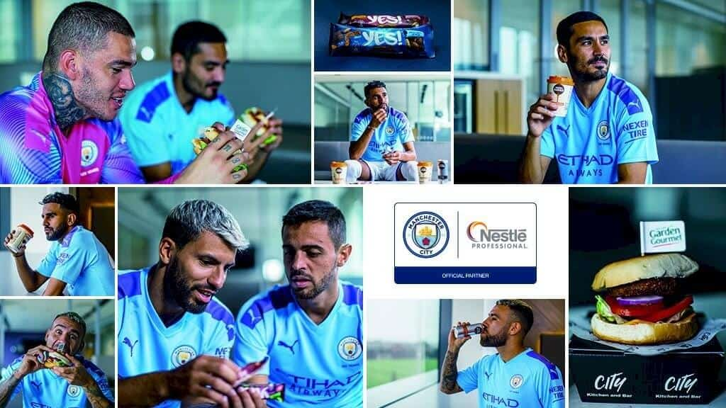 Nestle Man City Launch