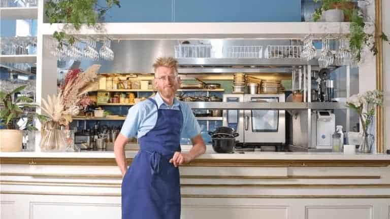 vegan mussels chef Nicolas Decloedt