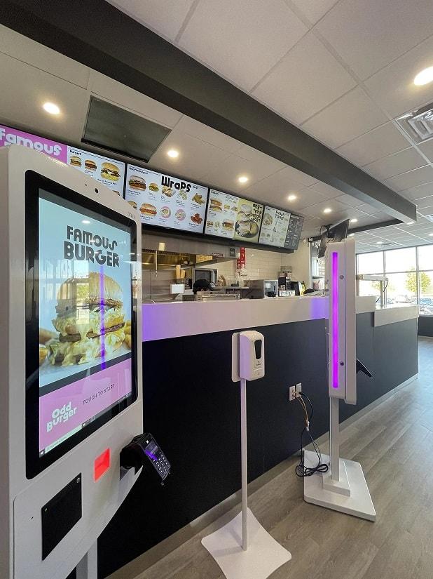 Odd Burger outlet