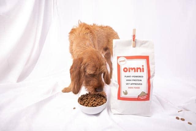 Omni plant-based dog food