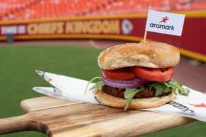 Aramark Beyond Burger Arrowhead Stadium