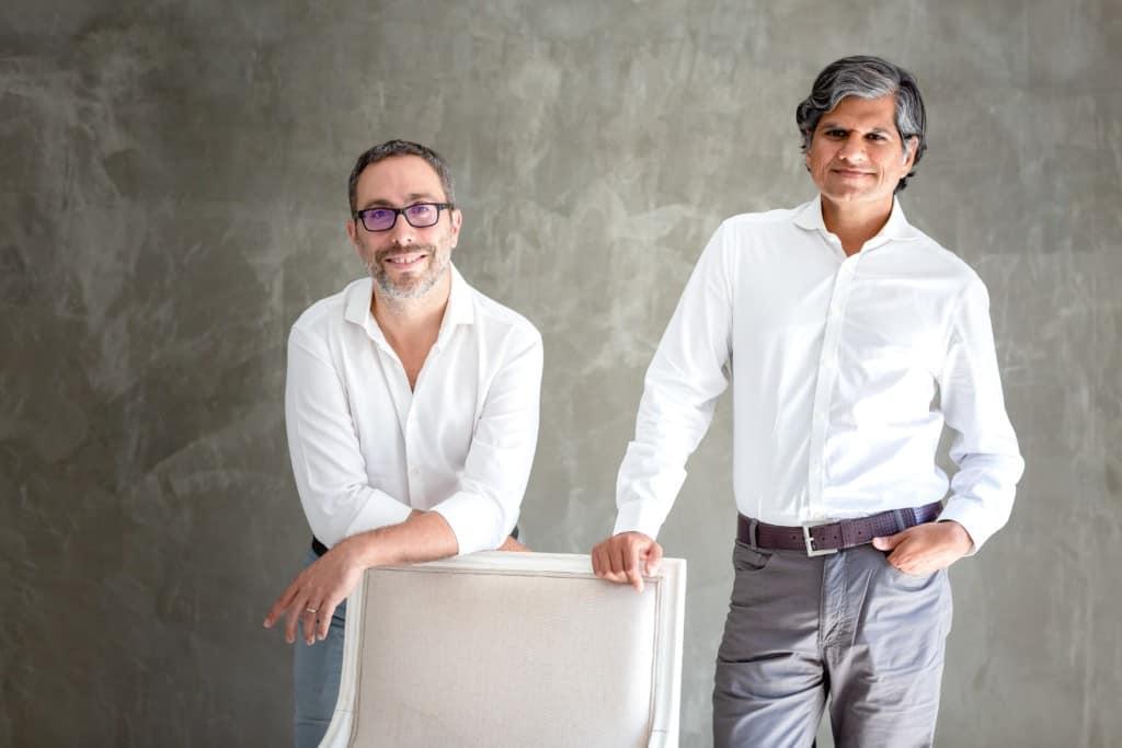 PINK ALBATROSS founders, (Luke on the right)