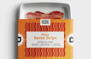 Prime Roots bacon