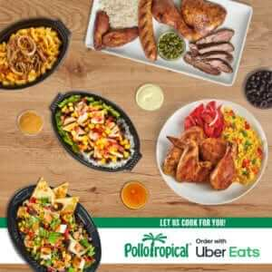 Pollo Tropical Uber Eats