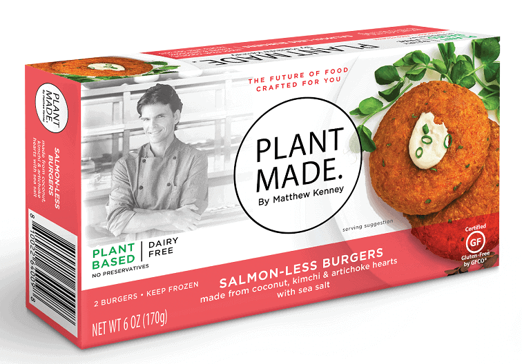 Plant Made salmon Matthew Kenney