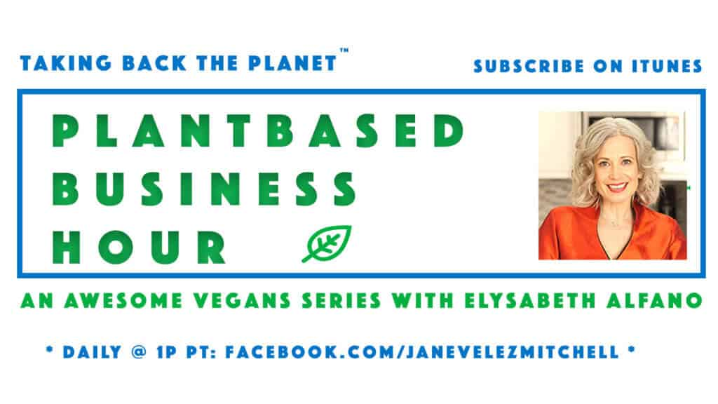 Plantbased Business Hour LOGO subscribe