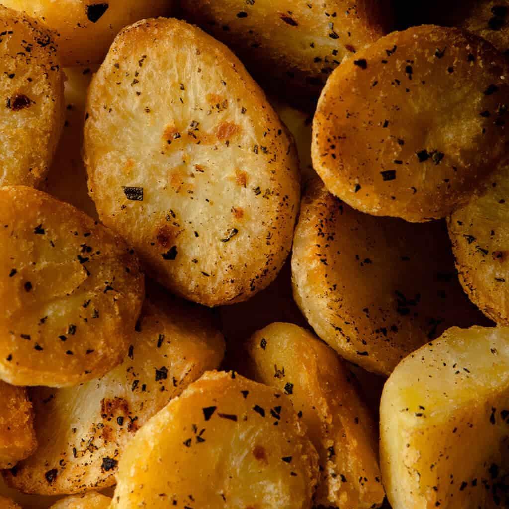 Potatoes vegan roast allplants