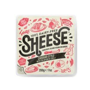 Sheese cheddar jalepeno