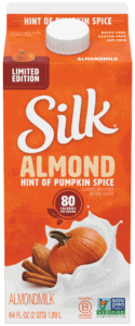 Silk Hint of Pumpkin Spice Almondmilk