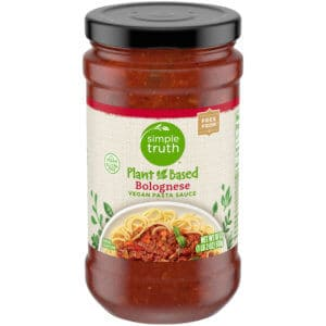Simple Truth Plant Based Bolognese Pasta Sauce