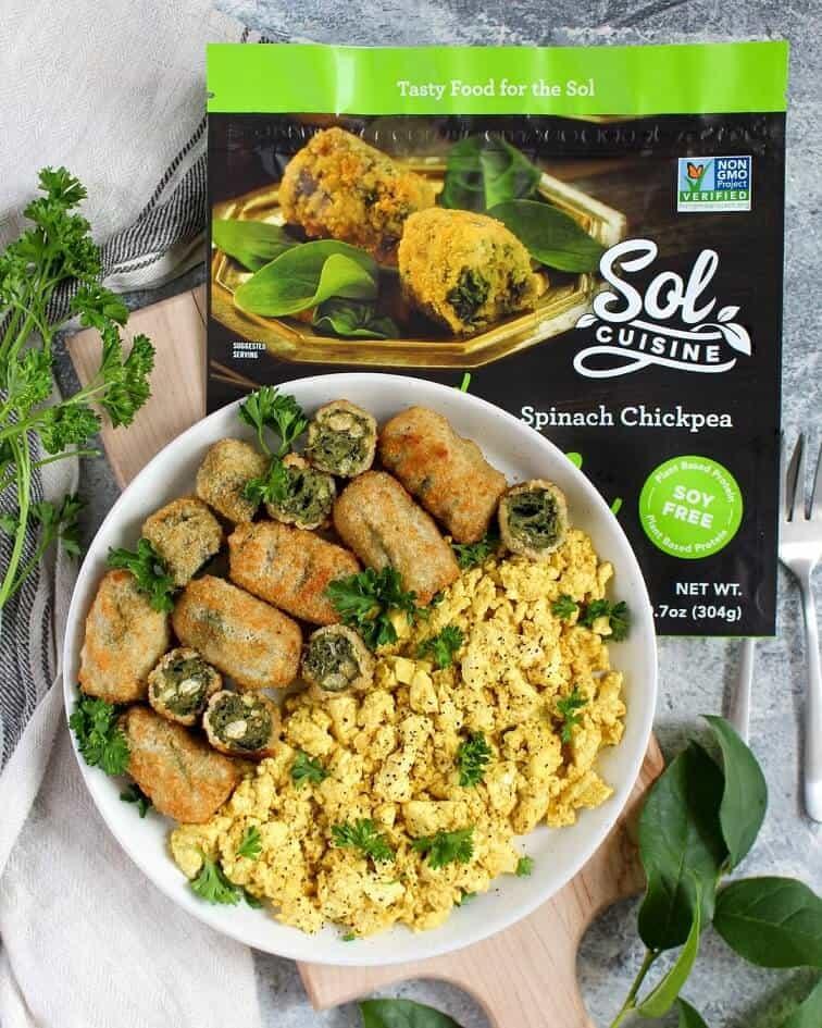 Spinach Chickpea Bites Sol Cuisine