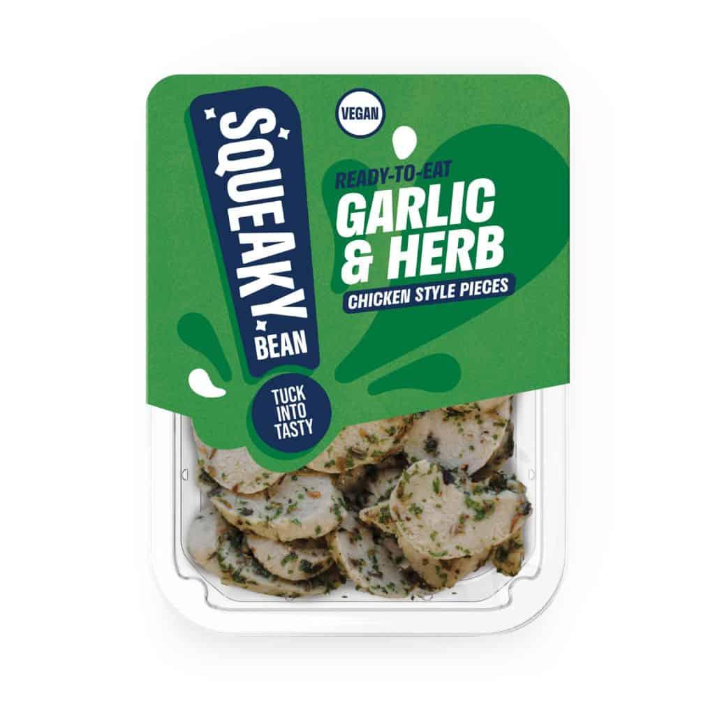 Squeaky Bean garlic pieces