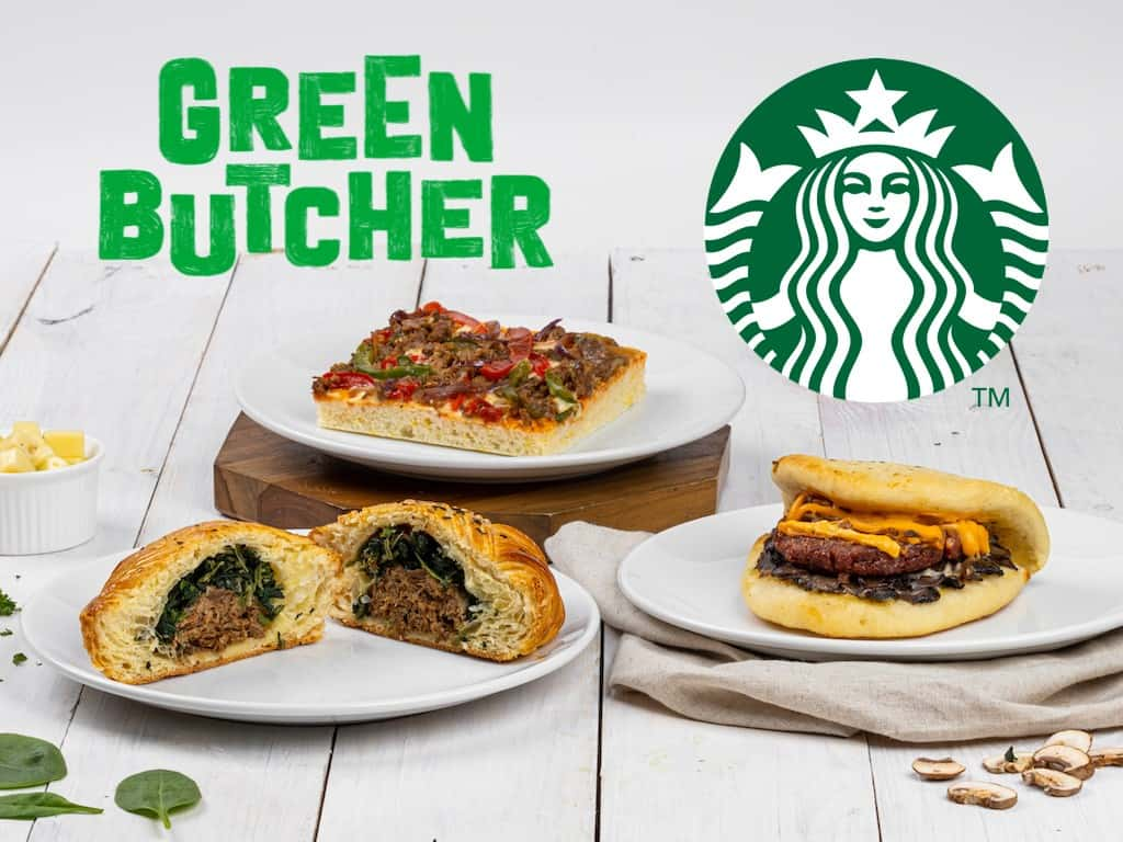Starbucks Green Butcher