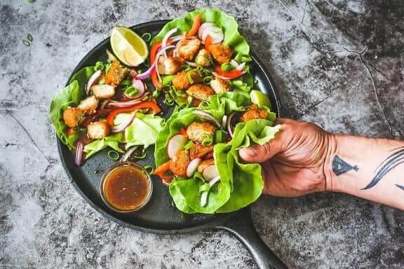 Teriyaki Lettuce Wraps Alpha Foods