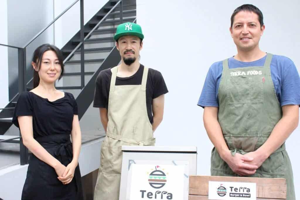 Terra burger team