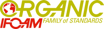 The IFOAM Family of Standards logo