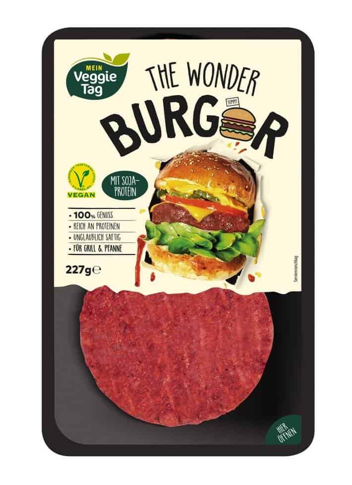 The Wonder Burger by Mein Veggie Tag (© Aldi Süd)
