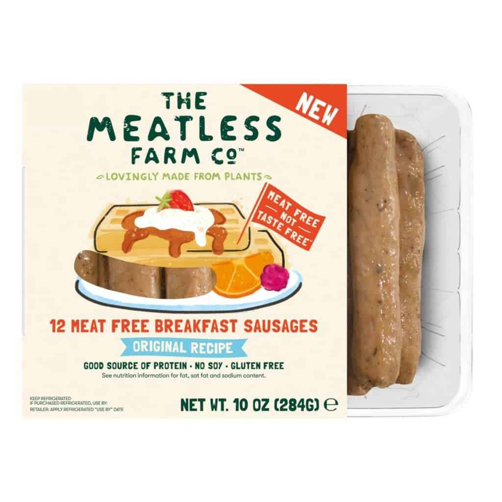 The Meatless Farm Co Breakfast Sausage Links