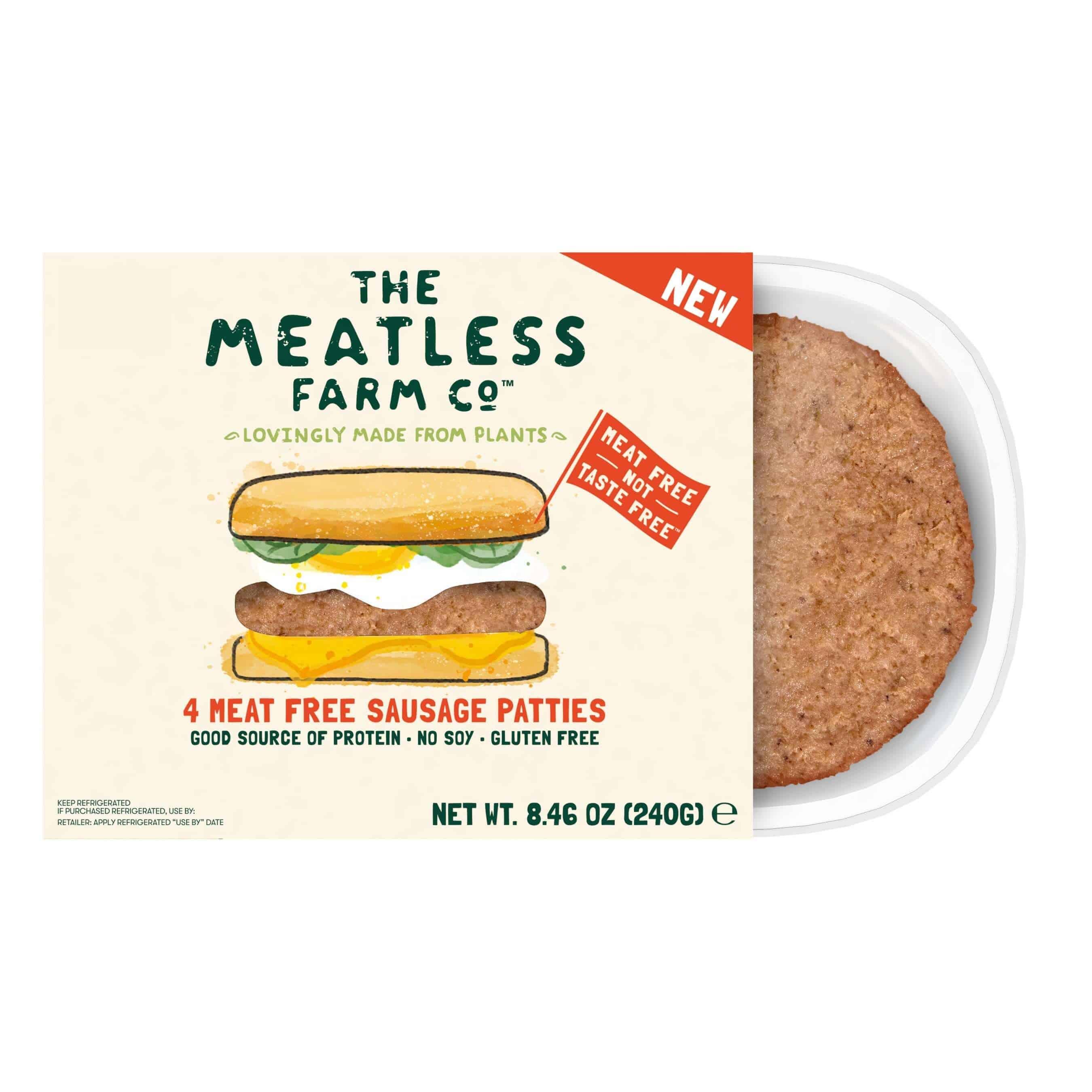 The Meatless Farm Co Breakfast Sausage Patties
