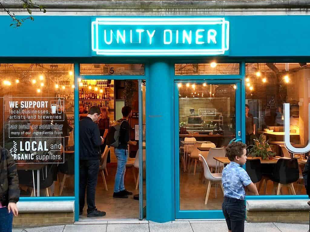 Unity Diner - HappyCow