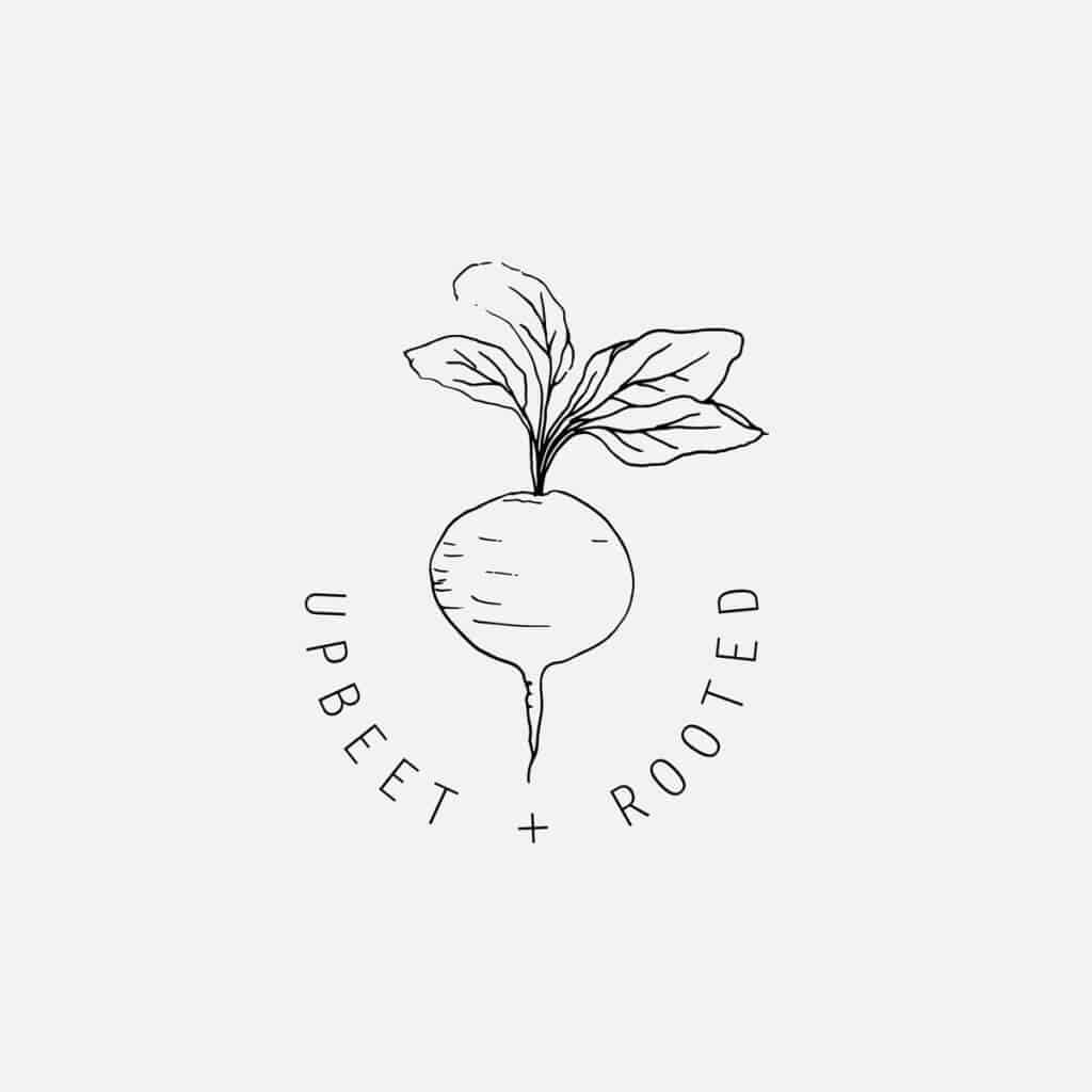 Upbeet + Rooted logo