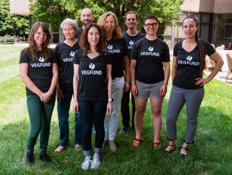 Veg Fund group shot