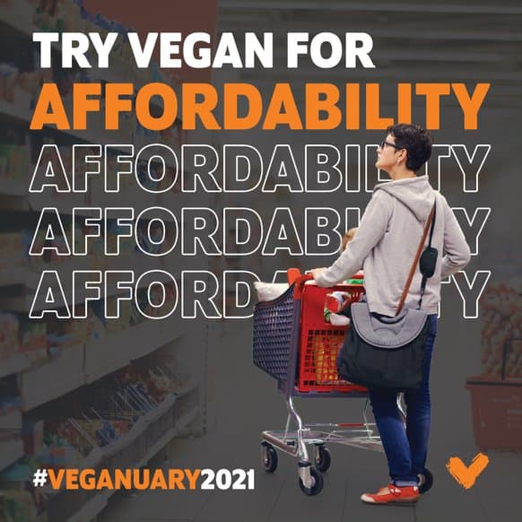 Veganuary affordability
