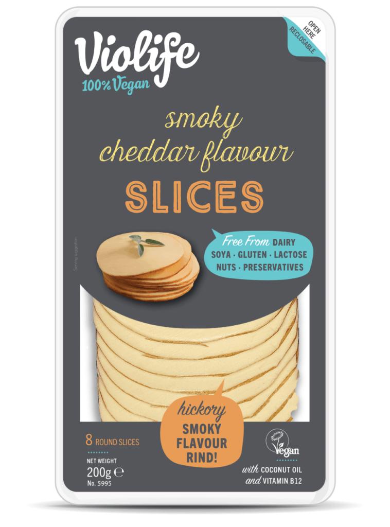 Violife Smoky Cheddar Flavour Slices