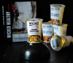 WICKED KITCHEN packet snacks grocery coconut crack'd corn-8