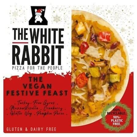 White Rabbit Christmas pizza
