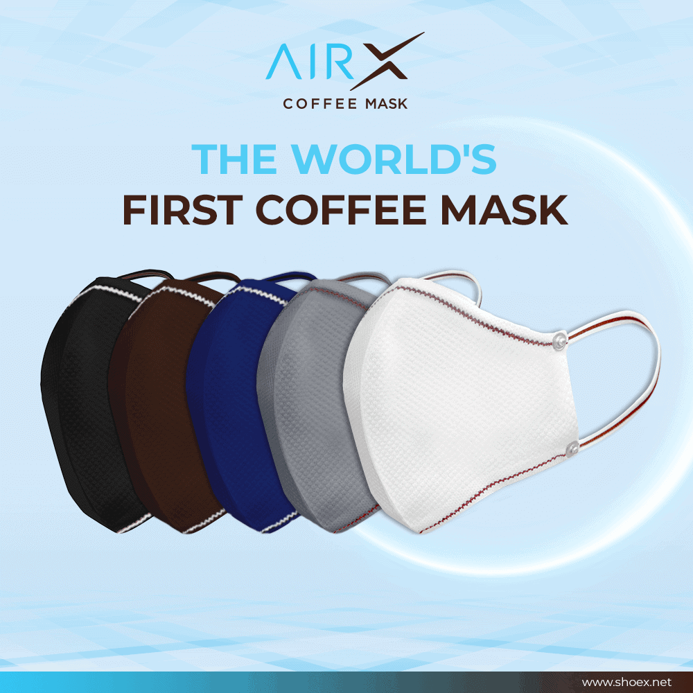 World's First Coffee Mask AirX