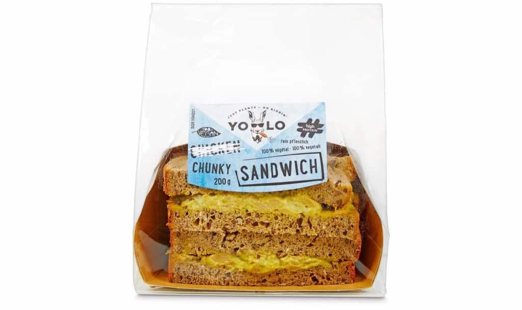 Yolo Coop Switzerland chicken sandwich