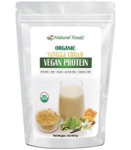 Z Natural Foods Organic Vegan Protein Powder
