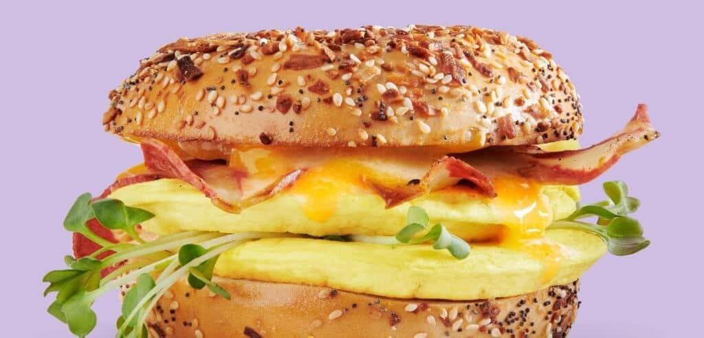 Zero Egg Sandwich