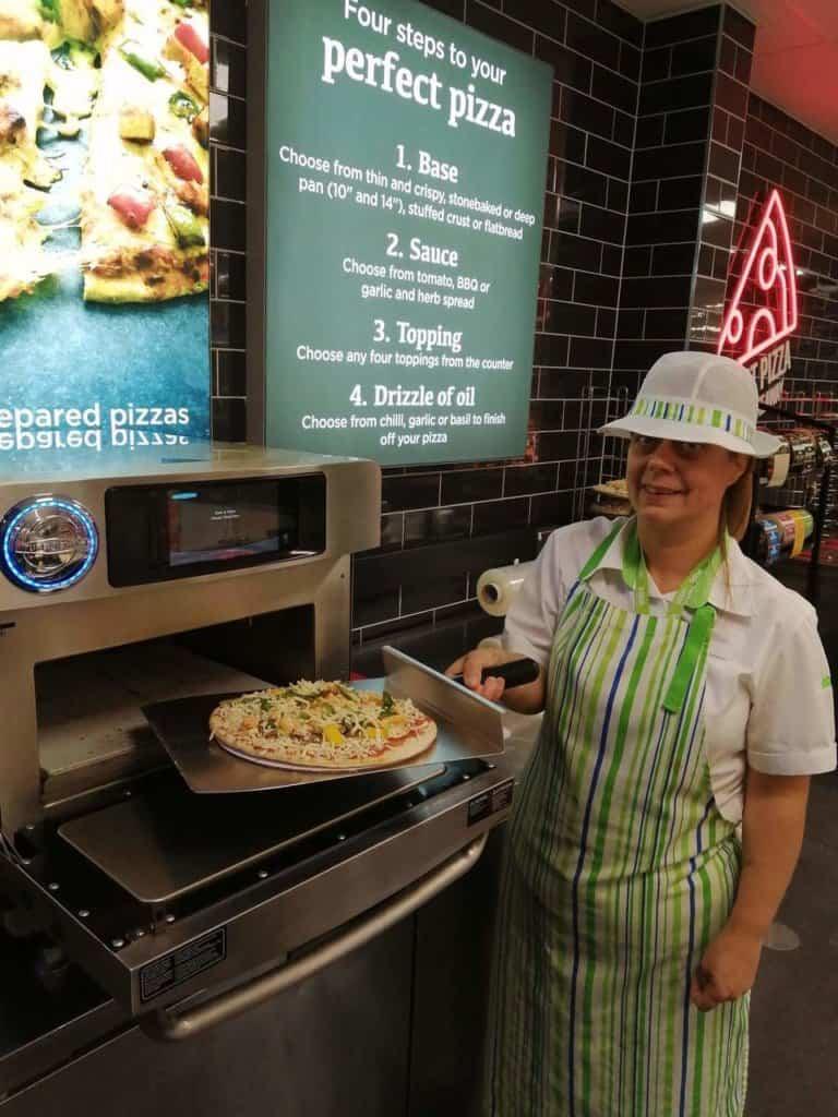 asda pizza counter
