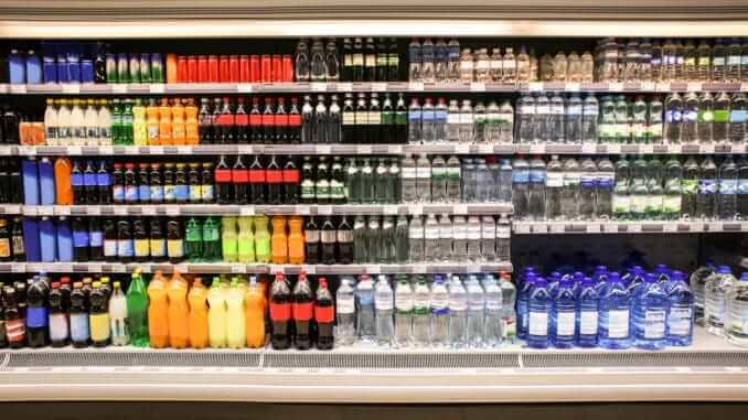 beverage water juice supermarket drink