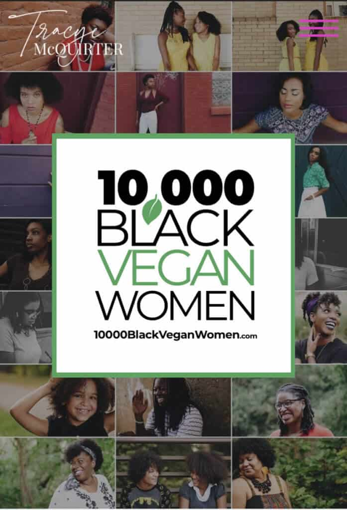 10,000 Black Vegan Women
