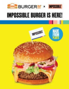 burgerim & impossible burger