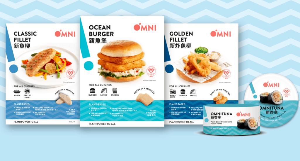 Omni Seafood range OmniFoods