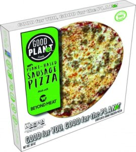 Good Planet Foods pizza