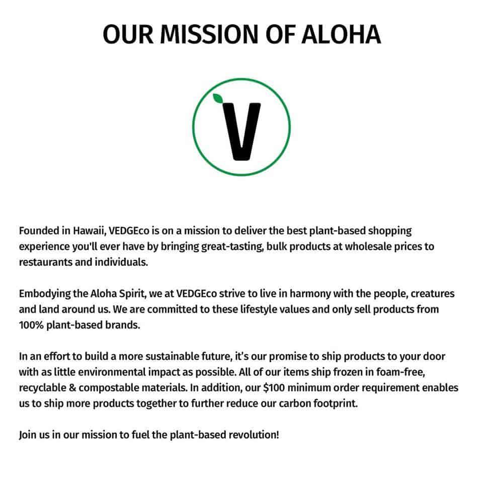 mission VedgeCo