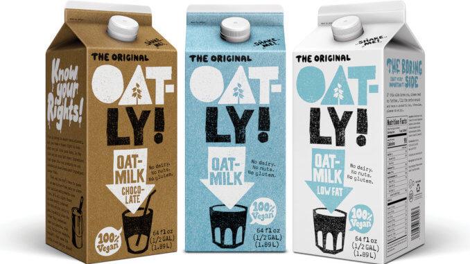 Oatly oat-milk line