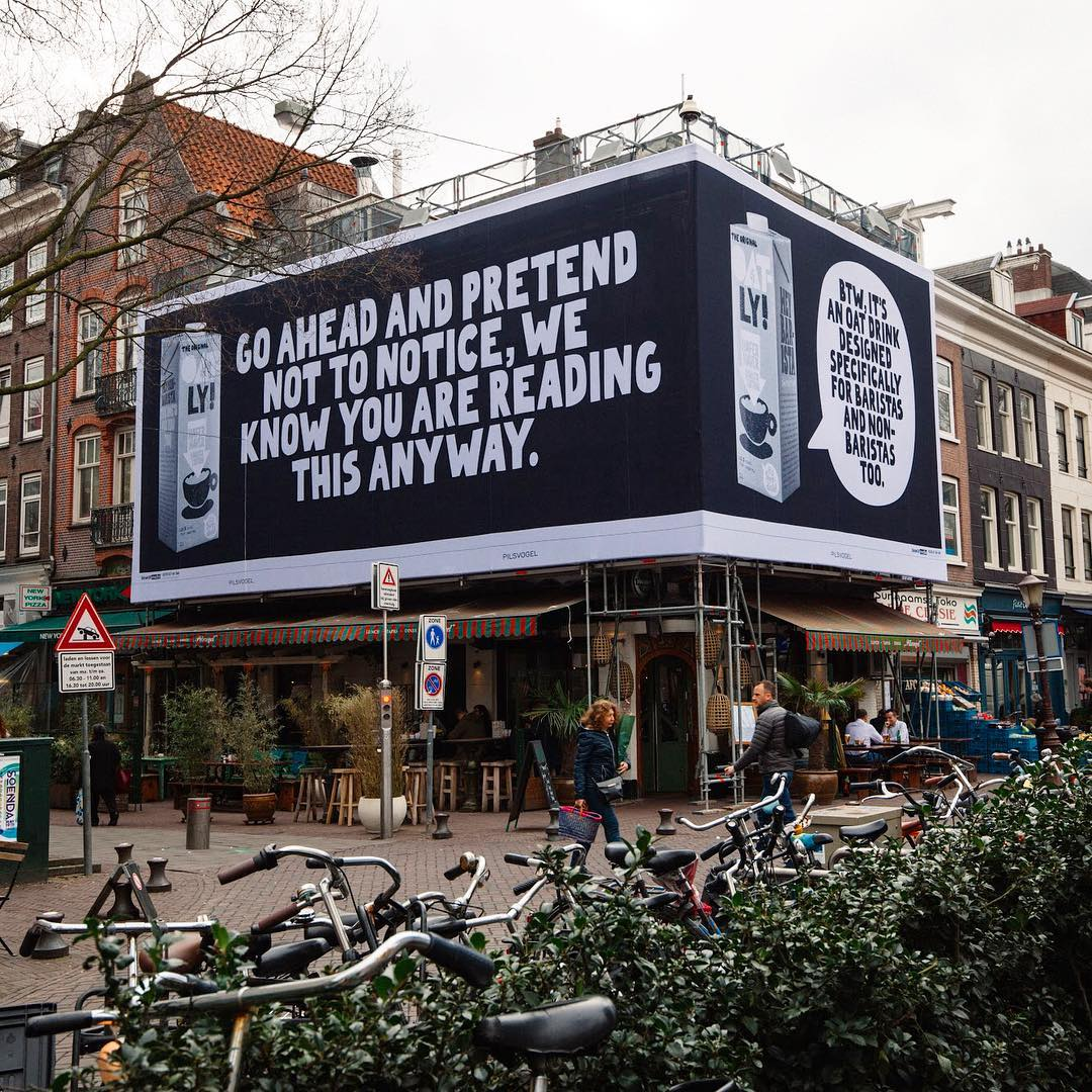 Oatly Poster