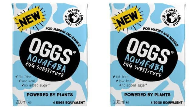 Oggs launches aquafaba egg alternative