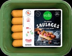 Naturli' Foods sausages