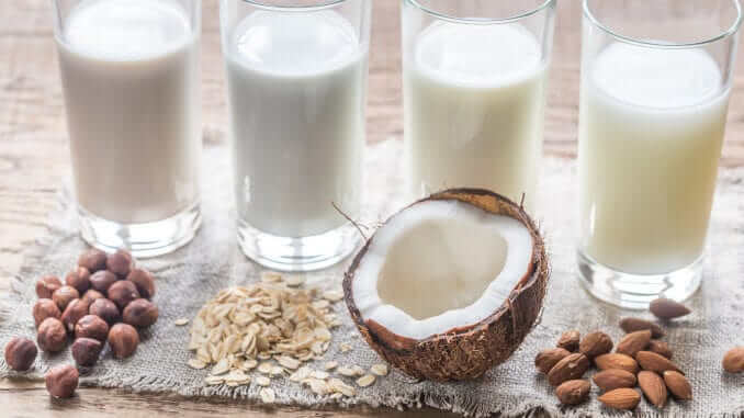 plant-based milk beverage drink