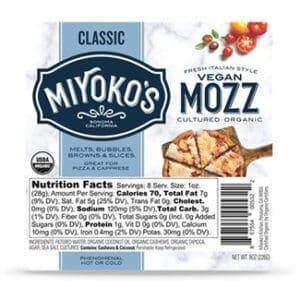 Miyokos Vegan Mozza