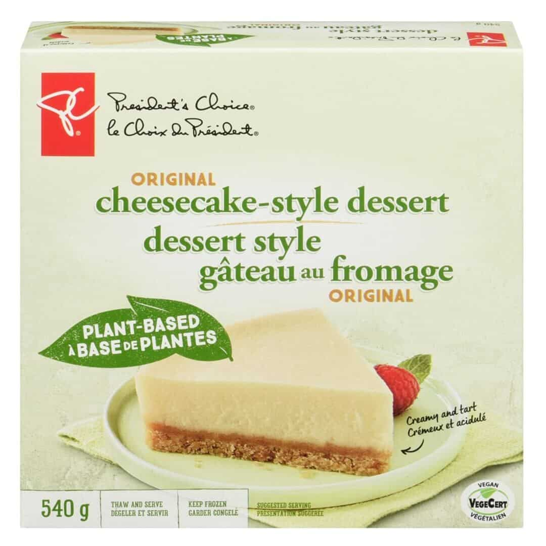 President's Choice cheesecake