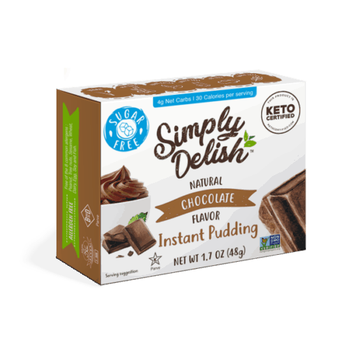 Simply Delish pudding dessert